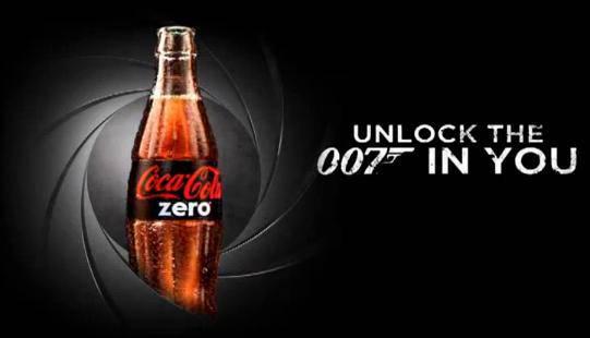 Coke Zero Unlock The 007 In You