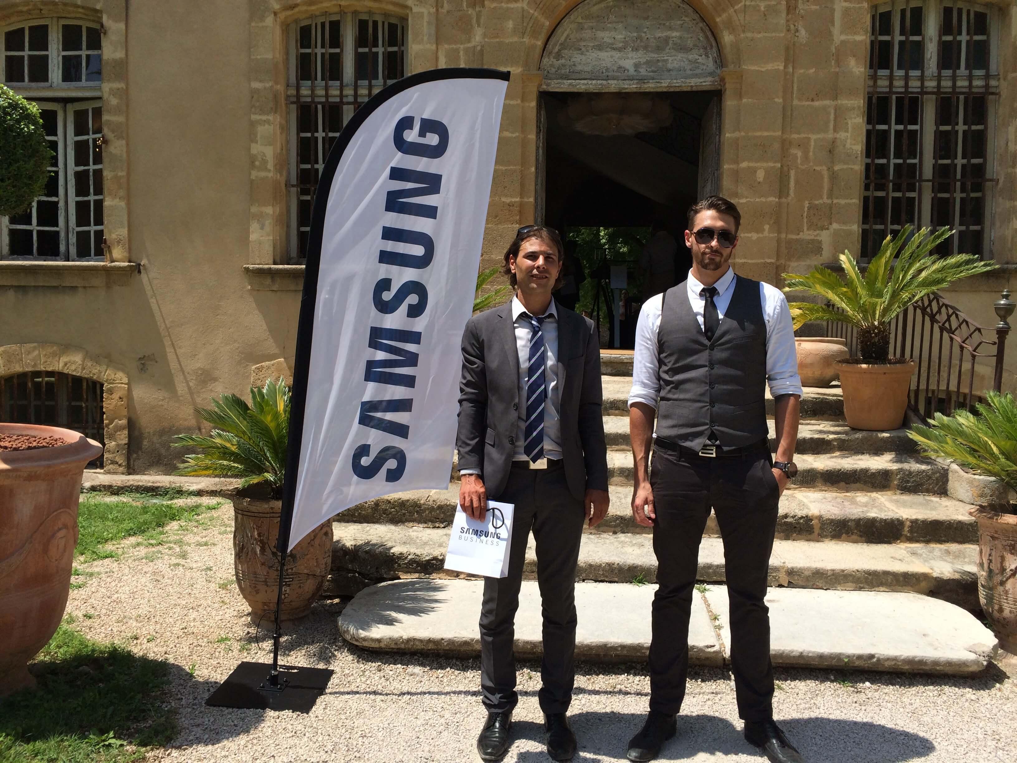 second sens participe au samsung partner innovation tour 2015