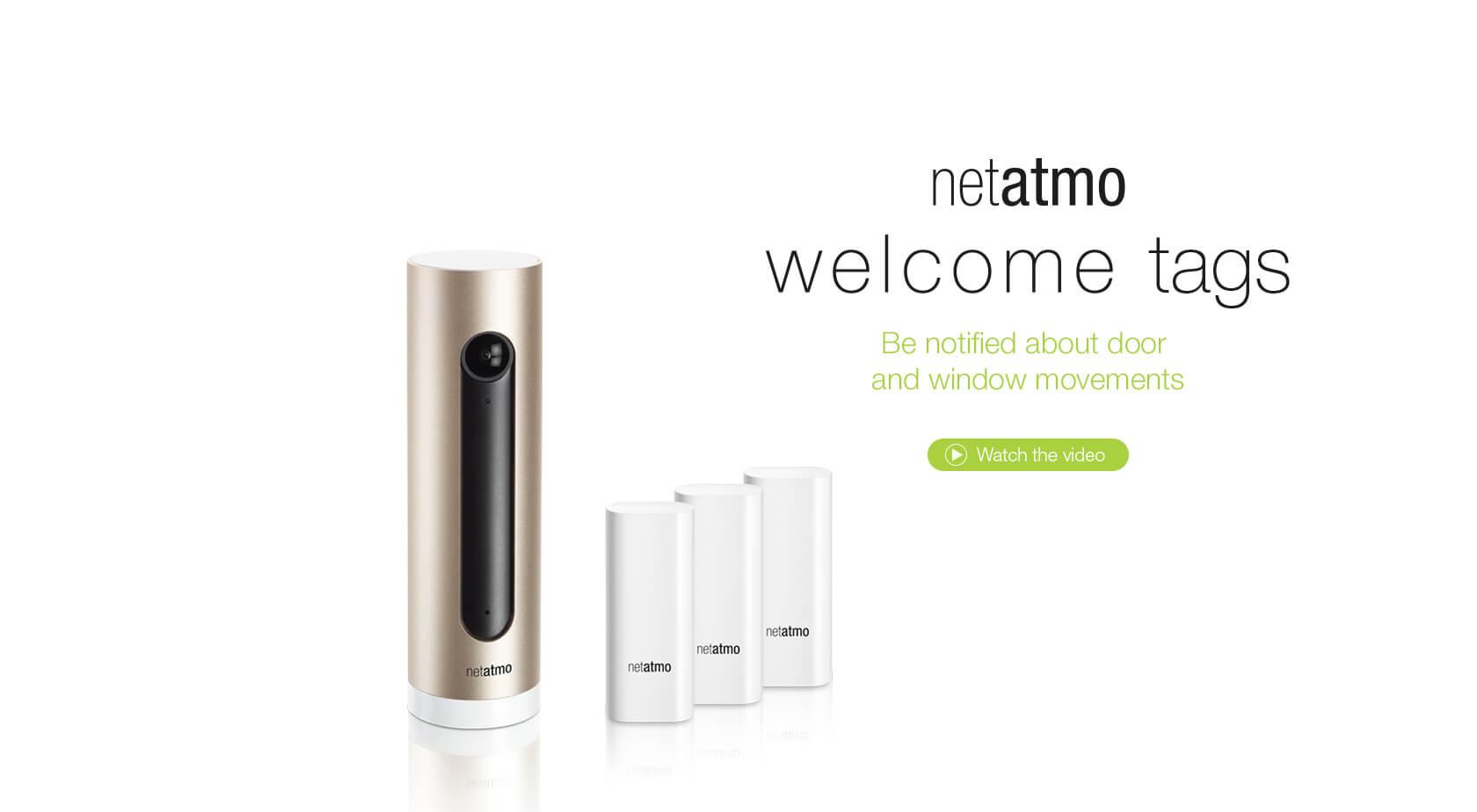 welcome tags Netatmo